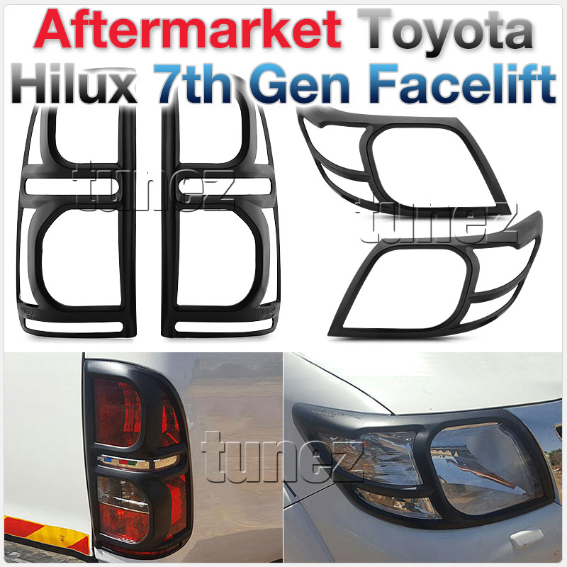 Front Tail Rear Light Lamp Cover Headlamp For Toyota Hilux 2013 2014 2015 KUN26