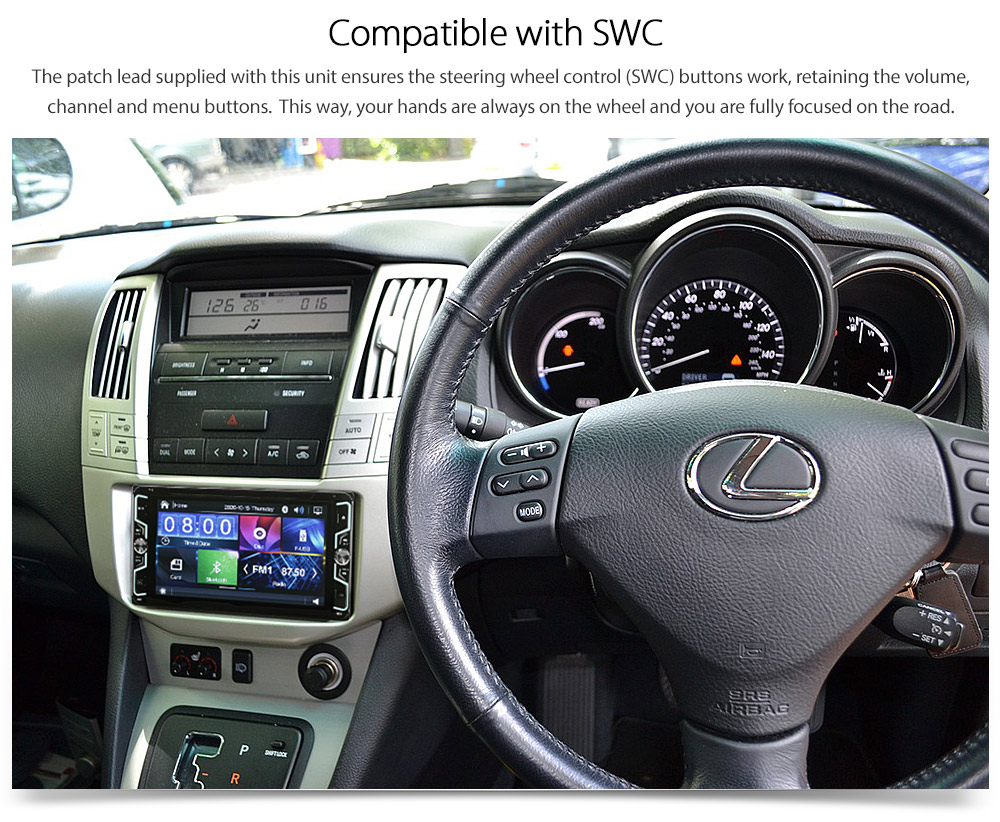 Car Dvd Mp3 Player Radio Stereo Lexus Rx 300 330 350 Xu30 Head Unit Mp4 Usb Cd G 769572711928