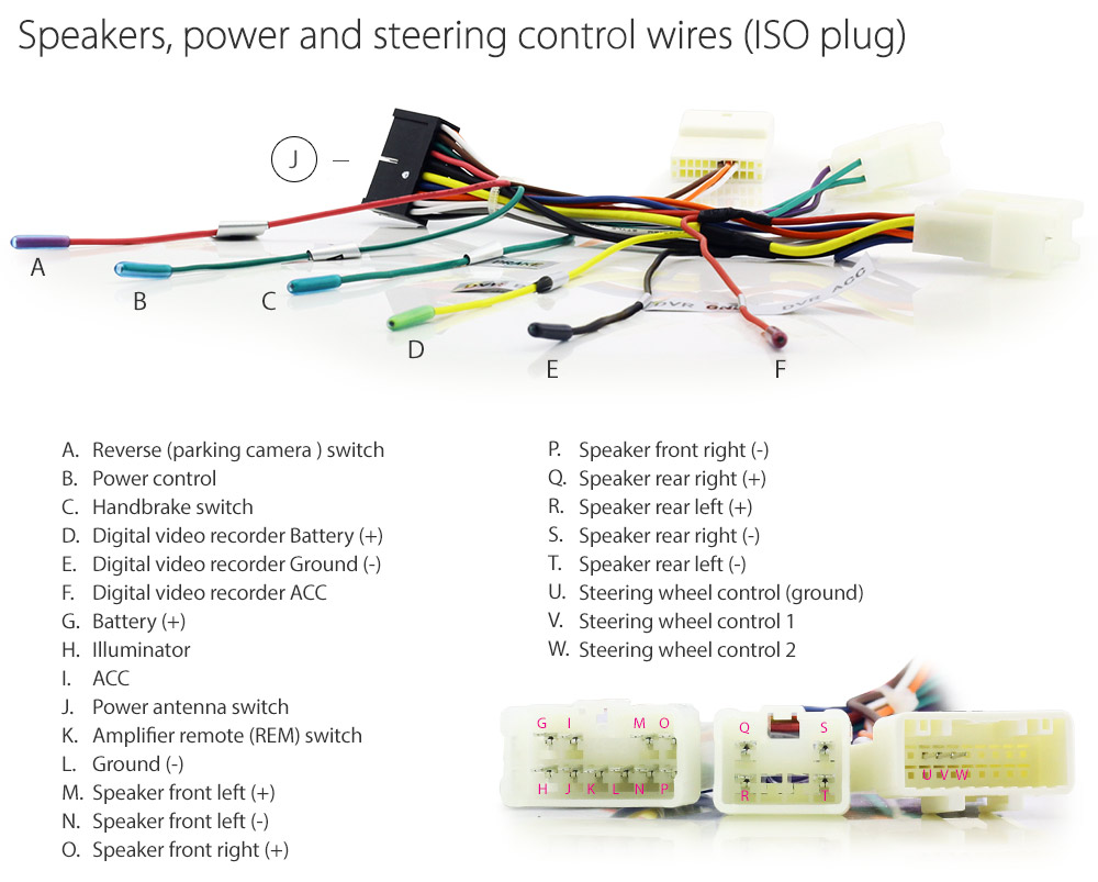TU09-iso-plug Stereo Wiring Diagram For Toyota Corolla on