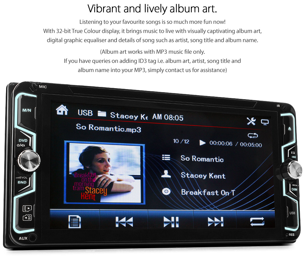 7 toyota corolla verso car gps dvd player head unit radio stereo usb fascia gt ebay. Black Bedroom Furniture Sets. Home Design Ideas