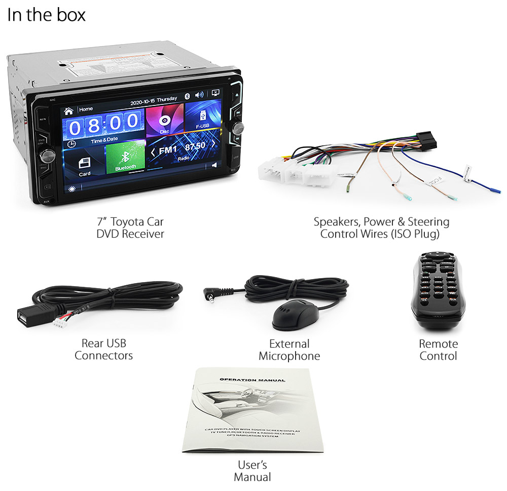 Car Dvd Mp3 Player For Toyota Land Cruiser Prado 120