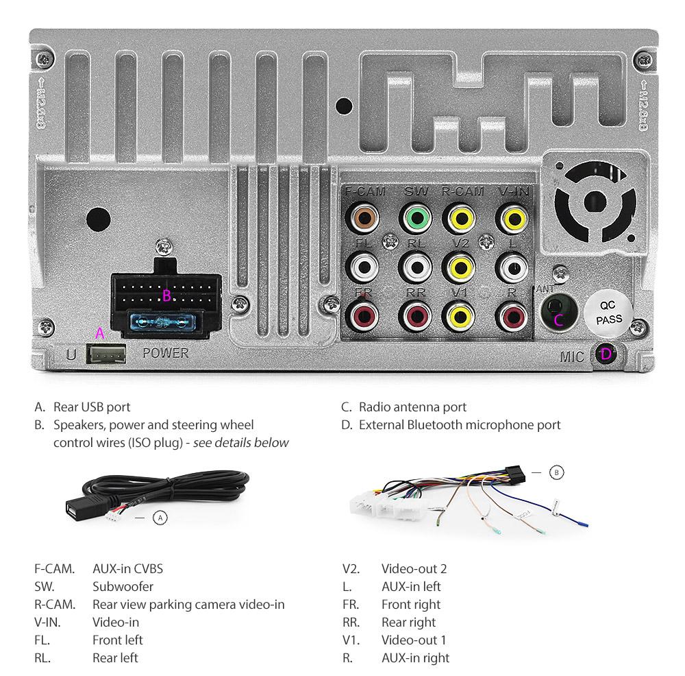 Car Dvd Player For Toyota Landcruiser Prado Hilux Stereo