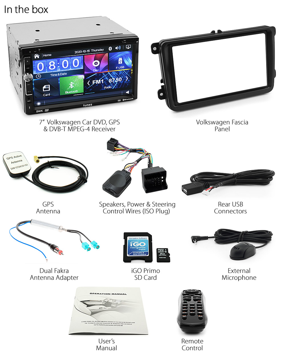 Volkswagen Vw Car Gps Dvd Mp3 Player Digital Tv Head Unit