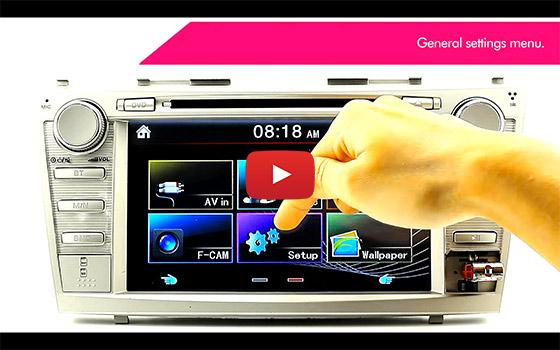 8 U0026quot  Suzuki Swift Dvd Gps Player Sat Nav Head Unit Radio Car Stereo System Mp3 Et