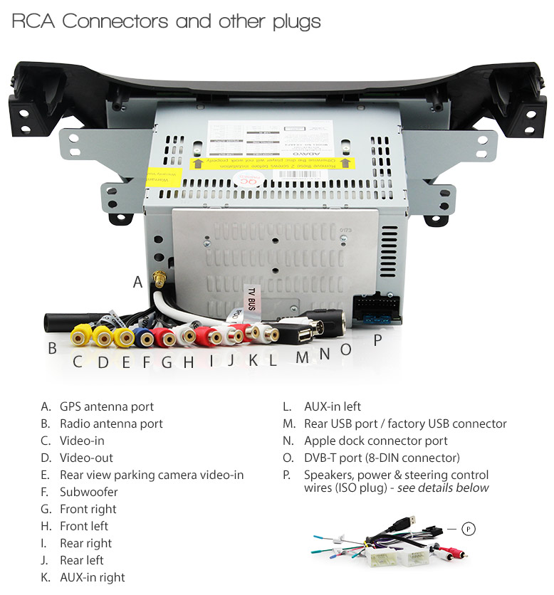 8 U0026quot  Car Dvd Gps Player For Hyundai Elantra Md Stereo