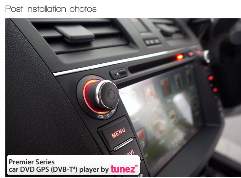 M301 Mazda 3 BL Radio Stereo GPS DVD Player DVB T Audio System a 8\