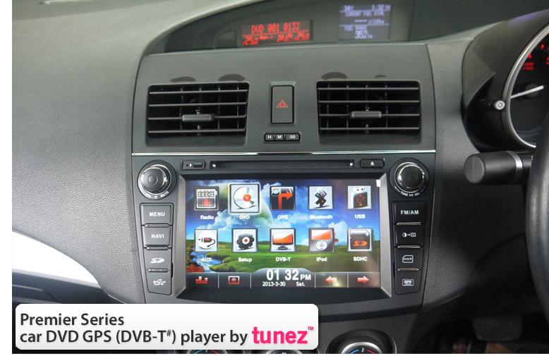 8 oem car dvd gps player for mazda 3 mazda3 stereo radio. Black Bedroom Furniture Sets. Home Design Ideas